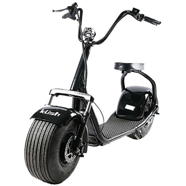 black kush steezer scooter front on 500 product