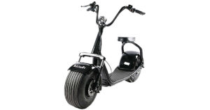 black kush steezer scooter front on 500 product copy