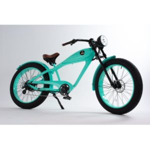 turquoise Z Electric Bike